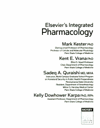 Elsevier s Integrated Pharmacology PDF