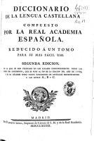 Diccionario de la lengua castellana compuesto por la Real Academia Espa  ola  reducido a un tomo para su m  s f  cil uso PDF