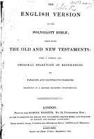 The English Version of Polyglott Bible  Etc PDF