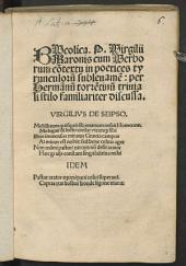 Bucolicus decem Aeglogarum opus