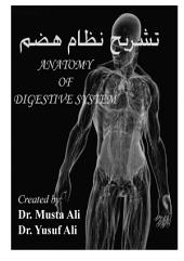 Anatomy of Digestive System: Anatomy of gastrointestinal tract with histology and applied anatomy of each organ in Urdu language