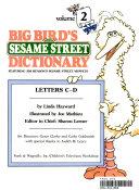 Big Bird s Sesame Street dictionary PDF