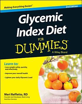 Glycemic Index Diet For Dummies PDF