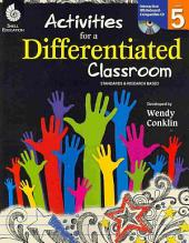 Activities for a Differentiated Classroom, Level 5