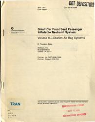 Citation Air Bag Systems Book PDF