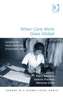 When Care Work Goes Global