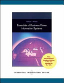 Essentials of Business Driven Information Systems PDF