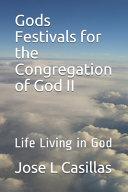 Gods Festivals for the Congregation of God II