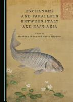 Exchanges and Parallels between Italy and East Asia PDF