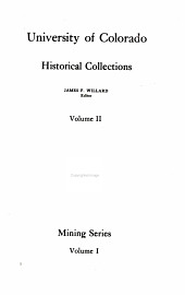University of Colorado Historical Collections: Volume 2