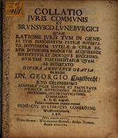 Collatio iuris communis et Brunsvico-Luneburgici
