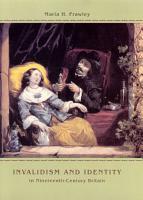 Invalidism and Identity in Nineteenth Century Britain PDF