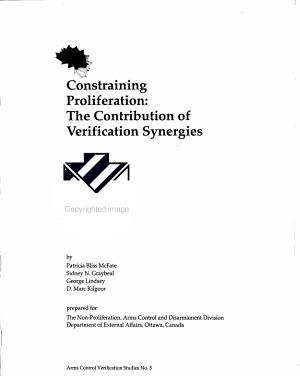 Constraining Proliferation PDF