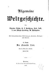 Allgemeine Weltgeschichte: Band 11
