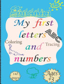 My First Letters And Numbers PDF