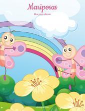 Mariposas libro para colorear 1
