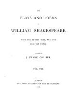 The plays and poems of William Shakespeare, ed. by J.P. Collier: Volume 8