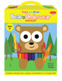 Color and Draw Bear in Underwear Activity Kit