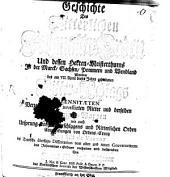 Geschichte des Ritterlichen Johanniter-Orden: und dessen Herren-Meisterthums in der Marck, Sachsen, Pommern und Wendland ...