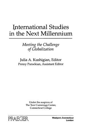 International Studies in the Next Millennium