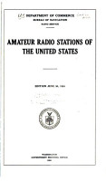 Amateur Radio Stations of the U S  PDF