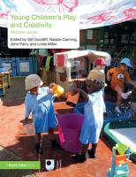 Young Children s Play and Creativity PDF