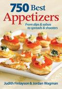 750 Best Appetizers Book