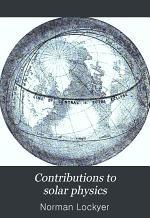 Contributions to Solar Physics