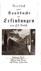 Versuch eines Handbuchs der Erfindungen: Sorbonne - V, Band 7