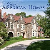Great American Homes: William T. Baker: William T. Baker