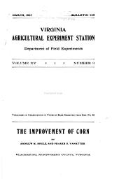 The Improvement of Corn