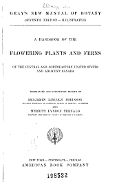 Gray's New Manual of Botany