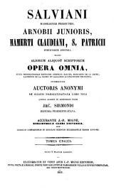 Patrologiae cursus completus: sive Bibliotheca universalis