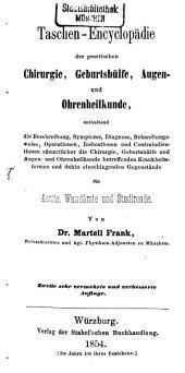 Taschen-Encyclopädie der practischen Chirurgie, Geburtshülfe, Augen- und Ohrenheilkunde ...