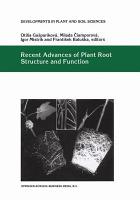 Recent Advances of Plant Root Structure and Function PDF