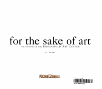 For the Sake of Art PDF