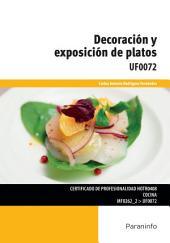 UF0072 - Decoración y exposición de platos