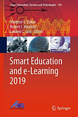 Smart Education and e Learning 2019 PDF