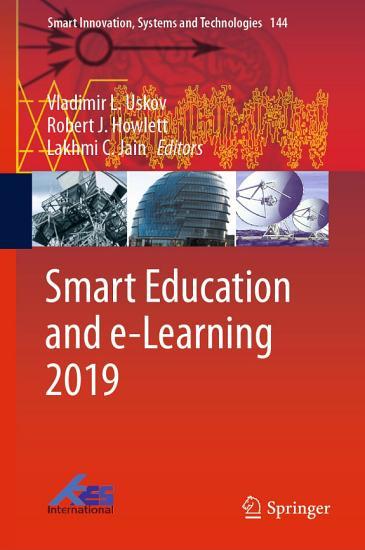 Smart Education and e Learning 2019 PDF