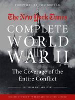 New York Times Book of World War II 1939 1945 PDF