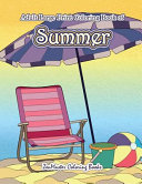 Large Print Coloring Book for Adults of Summer