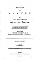 Studies of nature  tr  by H  Hunter PDF