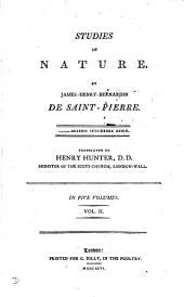 Studies of nature, tr. by H. Hunter