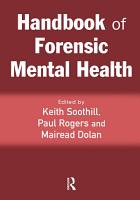 Handbook of Forensic Mental Health PDF