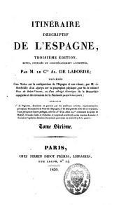 Itinéraire descriptif de l'Espagne: Volume6