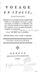Voyage en Italie: Volume3