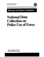 National Data Collection on Police Use of Force PDF