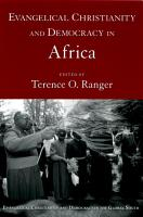Evangelical Christianity and Democracy in Africa PDF