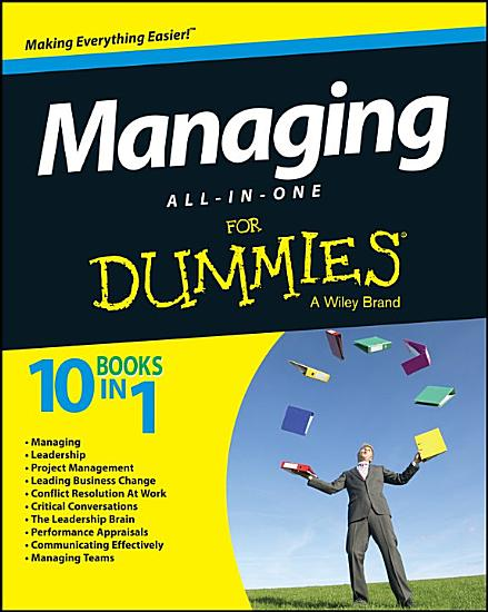 Managing All in One For Dummies PDF