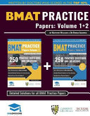 Bmat Practice Papers Volume 1 & 2